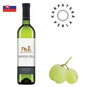 Karpatská perla Chardonnay barrique výber z hrozna Modra (Noviny) 2016 750ml