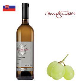 Mrva a Stanko WMC Chardonnay (Čachtice) neskorý zber 2017 750ml