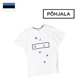 Tričko Põhjala Unisex - Deconstructed White