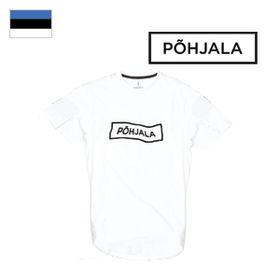 Tričko Põhjala Unisex - Wavy White