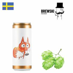 Brewski What Does The Fox Say? 330ml CAN
