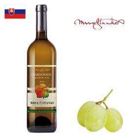 Mrva a Stanko Chardonnay (Čachtice) neskorý zber 2017 750ml