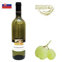 Chowaniec a Krajčírovič Chardonnay akostné 2018 750ml