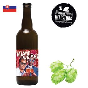 Hellstork Miami Weisse Cuvée Framboise 750ml