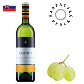 Karpatská perla Jagnet Rizling vlašský akostné 2017 750ml