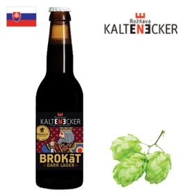 Kaltenecker Brokát Dark Lager 330ml
