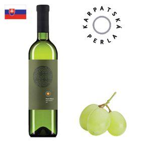 Karpatská perla Pinot Blanc neskorý zber 2017 750ml