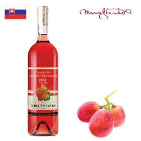 Mrva a Stanko Cabernet Sauvignon rosé (Vinodol) akostné 2017 750ml