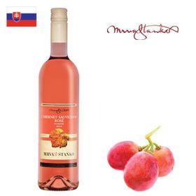 Mrva a Stanko Cabernet Sauvignon rosé (Vinodol) akostné 2018 750ml