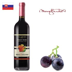 Mrva a Stanko Pinot Noir (Čachtice) výber z hrozna 2016 750ml