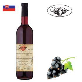 Ovocinár Víno z červených, čiernych ríbezlí a Josty 2015 750ml