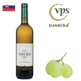 Pavelka Paves biely barrique 2015 750ml