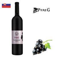 Pereg Víno z čiernych ríbezlí 750ml