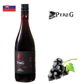 Pereg Víno z čiernych ríbezlí sparkling 750ml