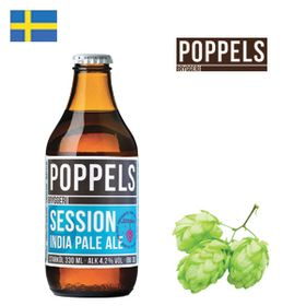 Poppels Session IPA 330ml