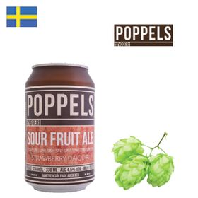 Poppels Strawberry Daiquiri 330ml CAN