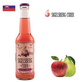 Sigelsberg Cider Čierna ríbezľa 275ml