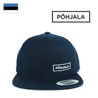 Šiltovka Põhjala Snapback - White Logo on Navy