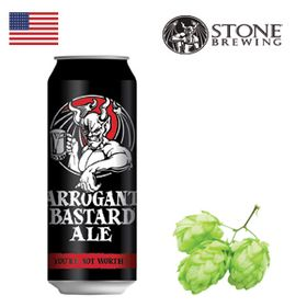 Stone Arrogant Bastard 500ml CAN