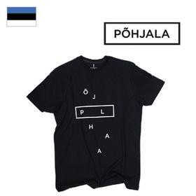 Tričko Põhjala Unisex - Deconstructed Black