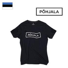 Tričko Põhjala Unisex - Wavy Black