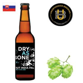 Unorthodox Dry As Bone 330ml
