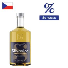 Žufánek Slivovica z dubového suda 45% 500ml